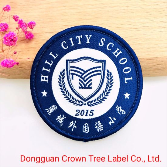Woven Patch Clothing Patch for School Student Uniform