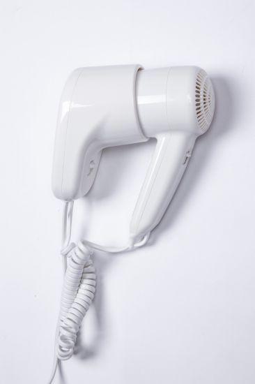 Wholesale 1300W White Hotel Hair Dryer Wall Mounting Home Salon Bathroom Euro Plug