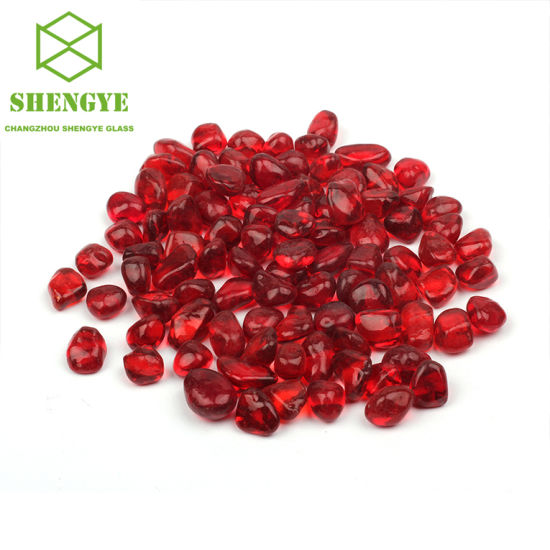Heat Resisting Glass Stone Beads for Garden Fire Pits