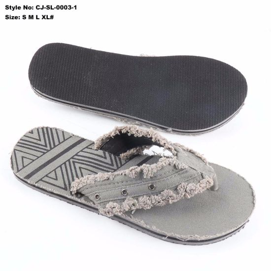 200633cb89e3 China Classic EVA Man Sandals PVC Upper Printed Flip Flop - China ...