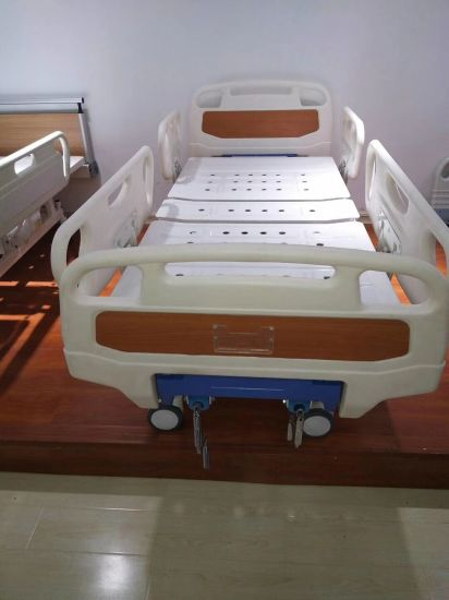 Factory Direct Wholesale Hospital Furniture, Single Crank Manual Medical Bed