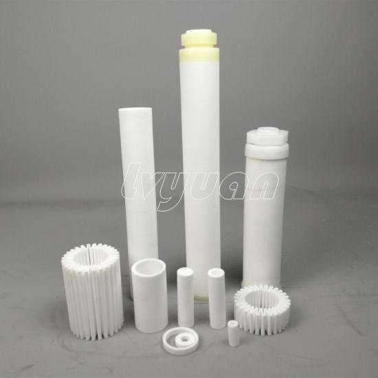 Sintered Porous Plastic Filter Cartridge of PE, PA, PTFE, PVDF, Nylon Tube for Sale