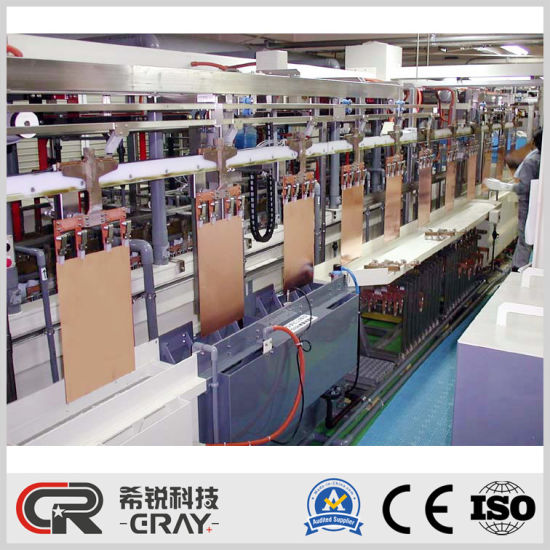 Automatic Vertical Continuous Plating Machine (VCP) PCB Coating Line