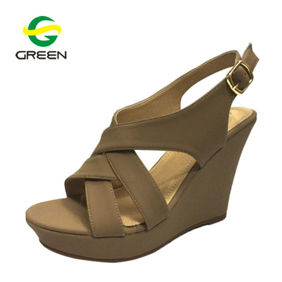 ac1d6afe686 China Summer Gladiator Sandals Women, Wedge Heel Sandals Shoes ...