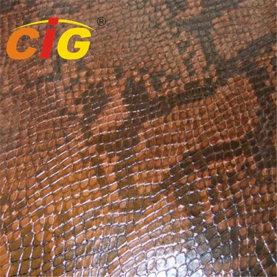 High-Quality Leather Lady Bag Imitation Crocodile Grain Leather Material
