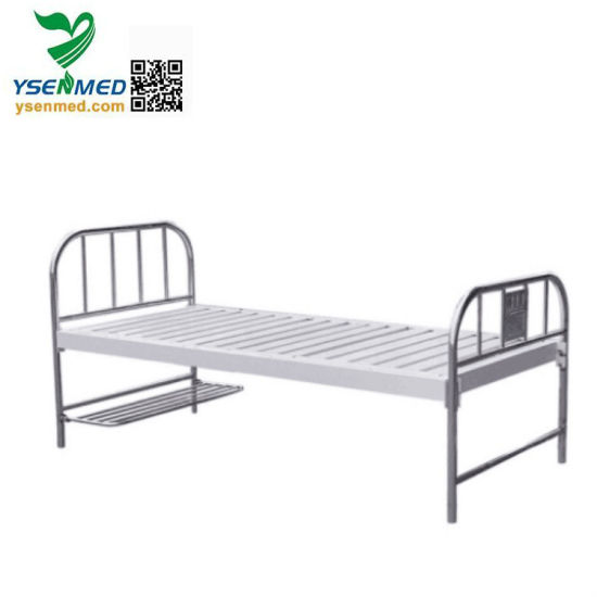Yshb101 Medical Hot Sale Cheap Stainless Steel Hospital Bed pictures & photos