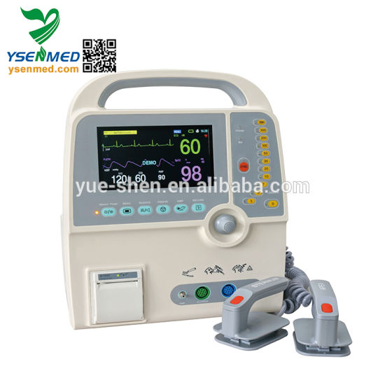 Ys-9000c Hospital Machine Medical Equipment Emergency Portable Defibrillator pictures & photos