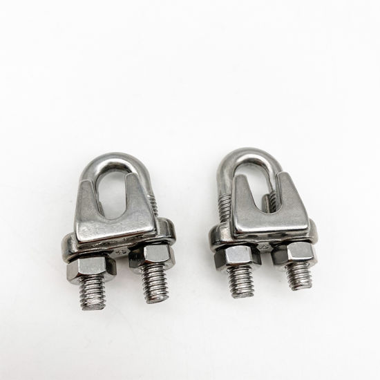 Stainless Steel JIS Wire Rope Clamp JIS Wire Rope Clips Marine Accessories