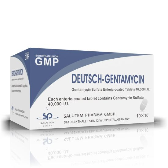 High Quality OEM Contract Manufacturing Gentamycin Sulfate Enteric-Coated Tablets