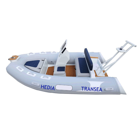 13 FT Hypalon Boat Rib Aluminum 390 with Motor
