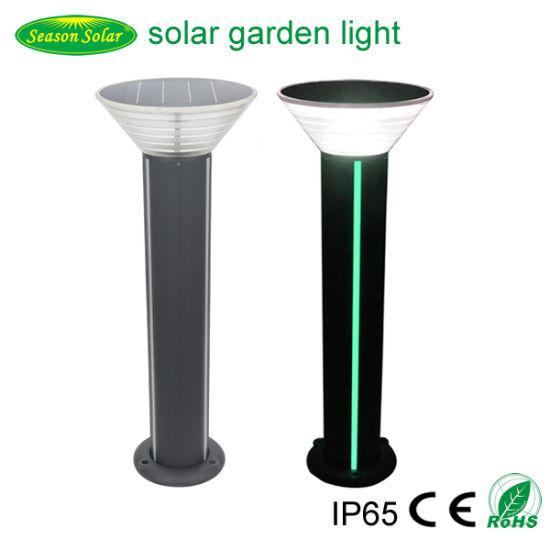 New 2020 Solar Light Alu. Material 80cm Outdoor 5W Solar Garden Light with LED Strip Lighting
