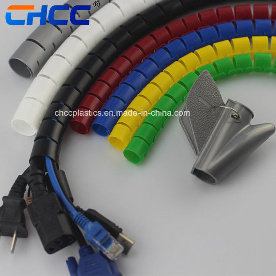 China Wholesale Spiral Wrap Wire And Electric Cable Sleeve China