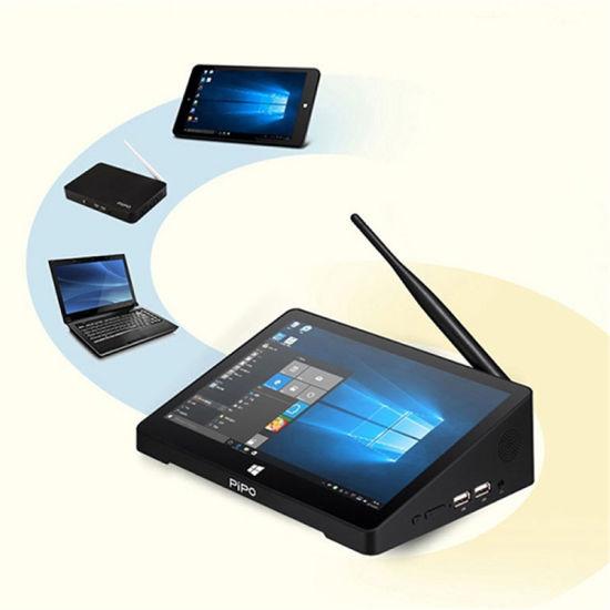 Pipo X9s with Router Mini PC Pipo X8 X9 X10 Windows10 Intel Atom Z8350 Mini PC