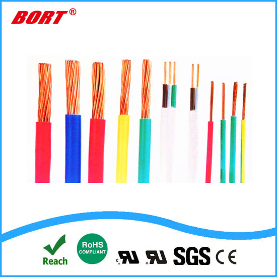 UL1452 Pes Flame Test Color Coded Underground Electric Cable on