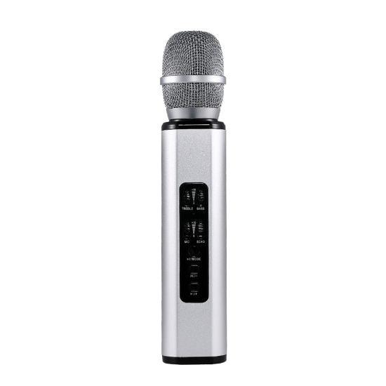 K6 Wireless Microphone Condenser Karaoke Microfone Record Music Metal Mikrofon Mic Bluetooth Speaker for Phone Computer Pk Ws858