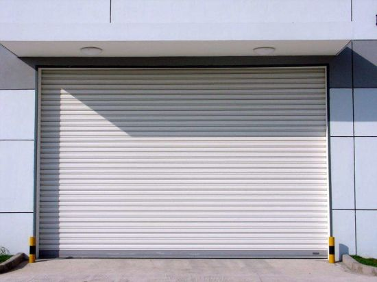 China Automatic Exterior Roll Up Doors