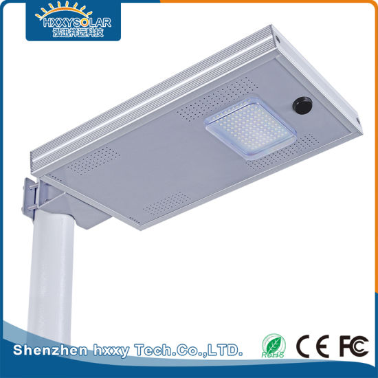 IP65 12W Outdoor All in One Integrated Solar Street Light LED pictures & photos