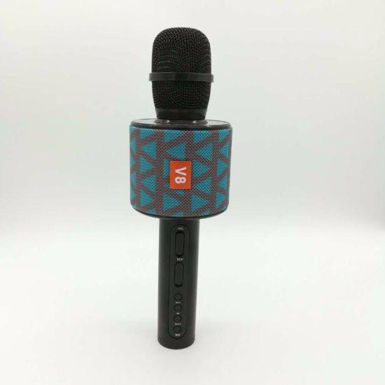 Cloth Delicated V8 Microphone Phone Handy Cara Ok Wireless Bluetooth KTV Microphone