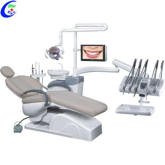 China Best Medical Dental Instrument Equipment Integral Electric Dental Chair Unit