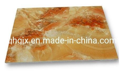 High Glossy Waterproof PVC Marble Wall Panel Fireproof PVC Wall Panel UV Board