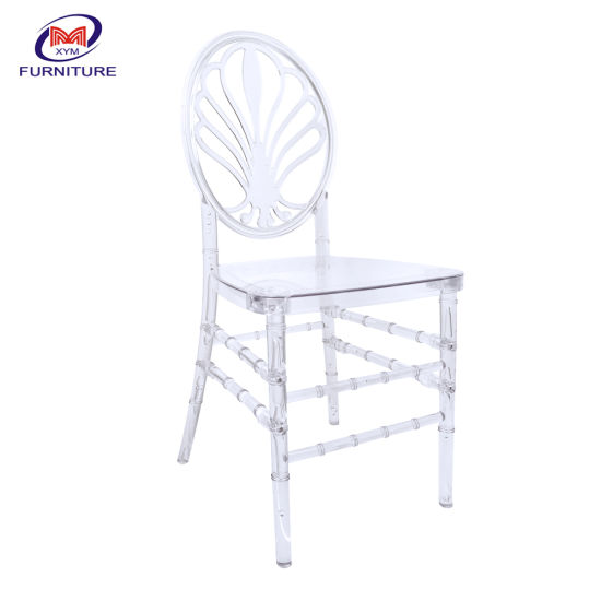 Tiffany Event Transparent Clear Wedding Resin Chiavari Chair for Outdoor Dining Party