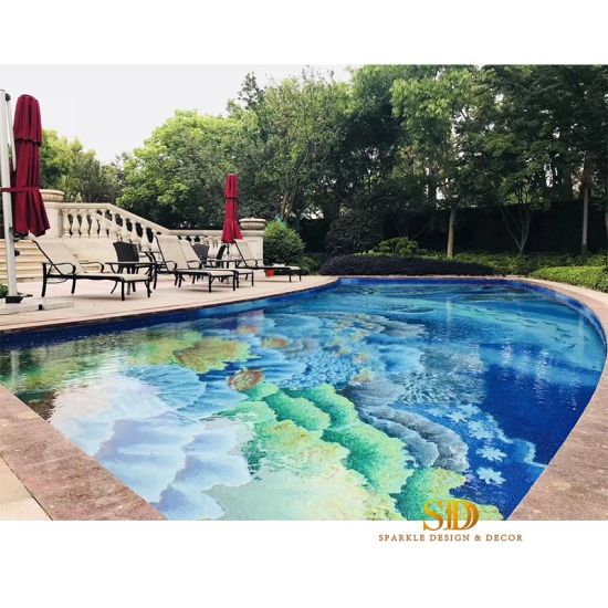China Private Villa/Palace Outdoor Pool Decoration Colorful ...