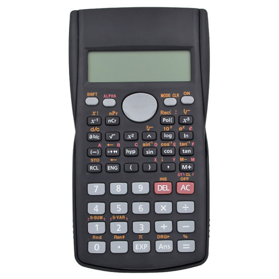 12 Digits Electronic Scientific Calculator 2 Line LCD Display