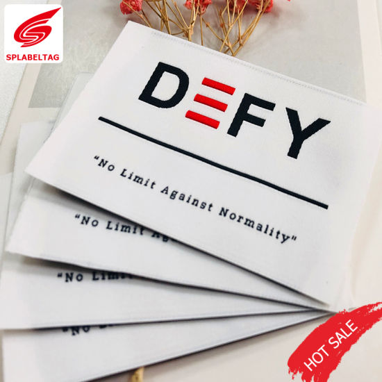 China Garment Accessories Apparel Best Quality Cotton Polyester Textiles Woven Label
