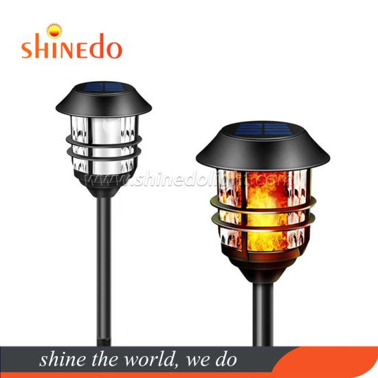 Wholesale Price Flickering Flame LED Lamp Solar Torch Light for Garden