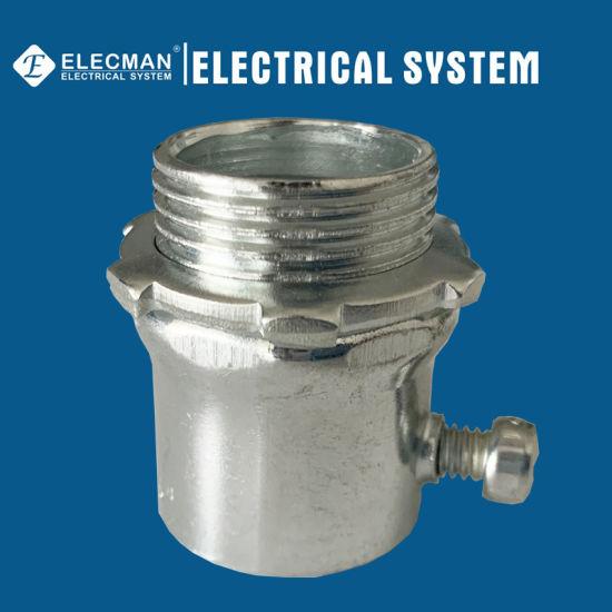Steel EMT Connector Set Screw Type