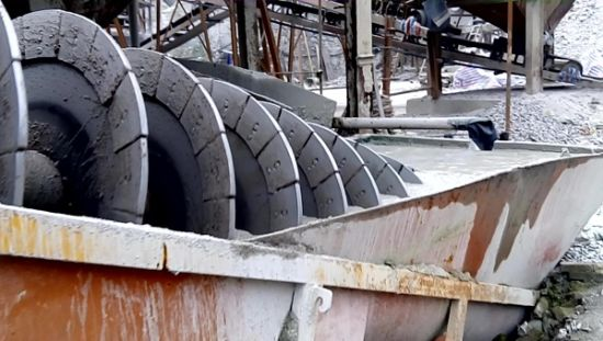 Screw Gold/Ore/Mine/Tailings Ore Washer for Sale