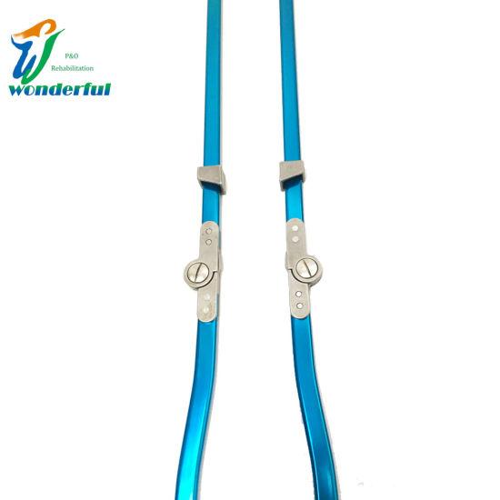 Blue Aluminum Bar Child Drop Lock Orthotics