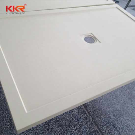 Artificial Stone Bathroom Ware Solid Surface Sanitary Ware Shower Tray