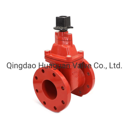 Awwa FM/UL Ductile Iron, Cast Iron Nrs Resilient Seated, Inductrial Gate Valve