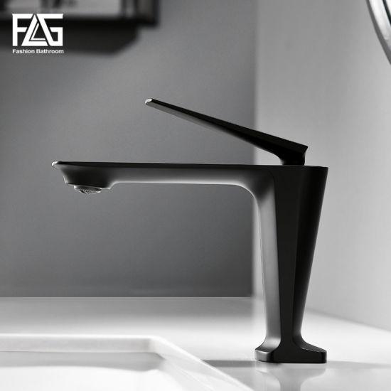 Flg High Quality Sanitary Ware Basin Waterfall Bathroom Faucet