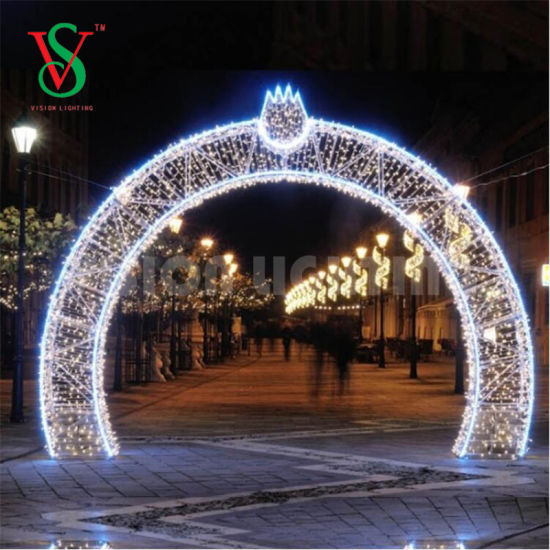 Large Christmas Decorations Outdoor Ramadan Led Lighted Arch