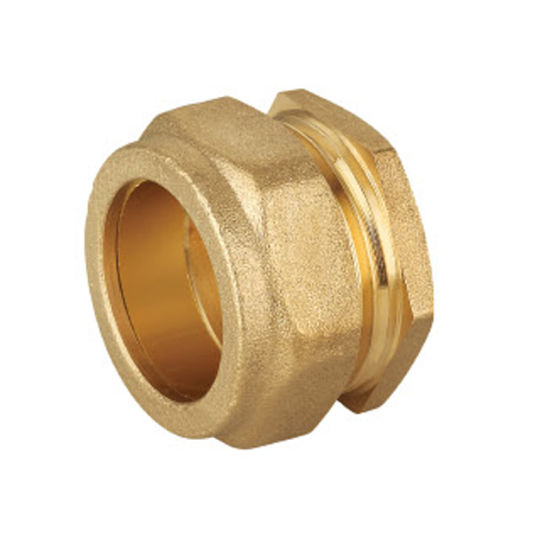 Wras Approved Brass Compression Fittings Stop Ends for Copper Pipe pictures & photos