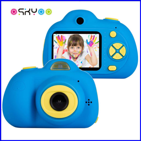 Silicone Rechargeable Kids Toys Digital Video Camera pictures & photos