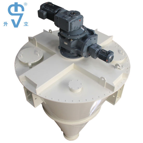 Non-Residual Discharge Vertical Conical Screw Mixer Machine in Low Energy