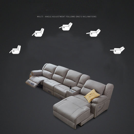 Tremendous Italian Genuine Heated Leather Sofa Modern Sectional Sofa Moviehb111 Bralicious Painted Fabric Chair Ideas Braliciousco