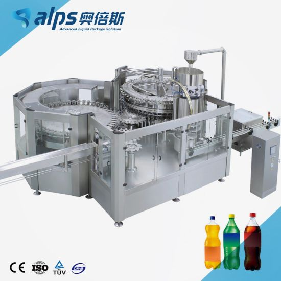 Automatic Bottled Liquid Carbonated Soft Drink Juice Filling Making Machine Spring Mineral Drinking Soda Water Bottling Plant Production Line