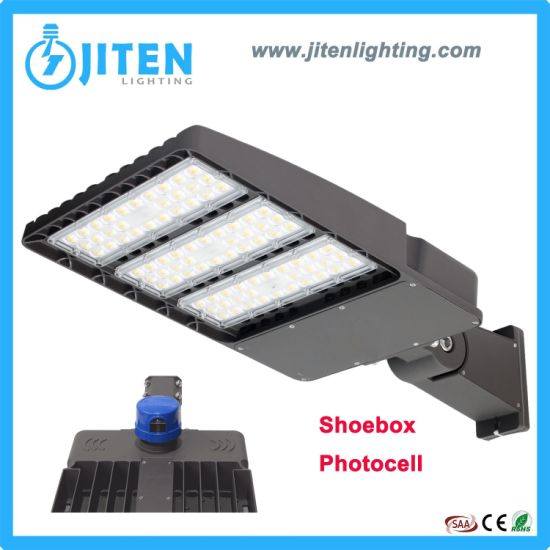 150lm/W 5 Years Warranty Adjustable Shoebox 100W 150W 200W 300W Outdoor Photocell Lamp Lighting Solar LED Street Flood Tunnel Garden Light for Project