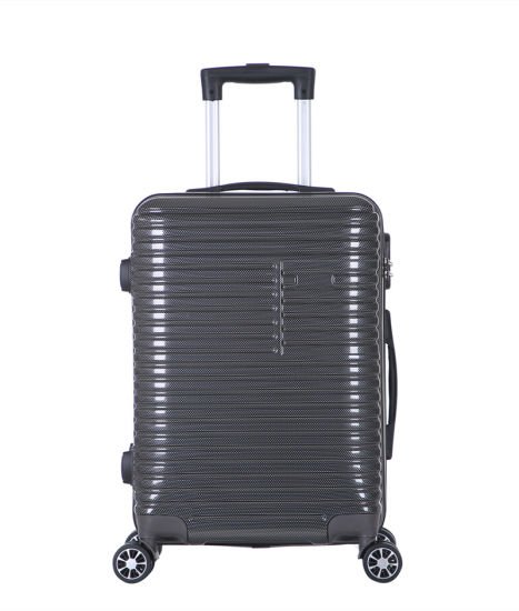 Lightweight Travel PC Luggage Set Dongguan Factory High Quality Travel Suitcase (XHP133)