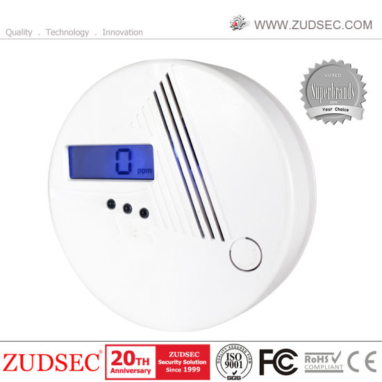 Factory Offers Carbon Monoxide Sensor with LCD Display, Co Detector Alarm for Kitchen