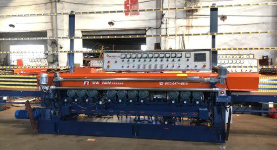 9 Beveler Heads Bovone Bottero Automatic Straight Line Glass Beveling Machine