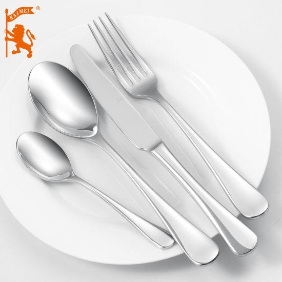 Childrens Kids Stainless Steel Fork Spoon Set Dinner Cutlery  C