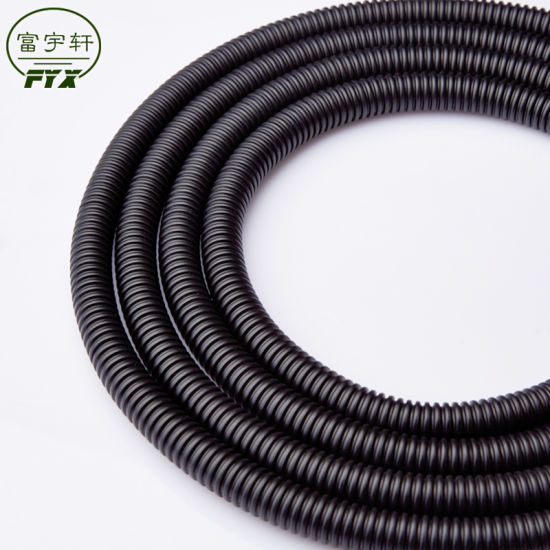 Polyethylene Double Wall HDPE Perforated Corrugated Drainage Pipe