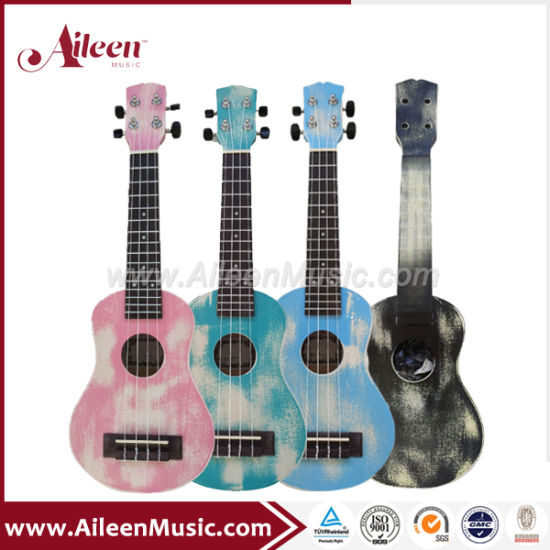 New Colors Hand Rubbed Finish Ukulele (AU-H01A)