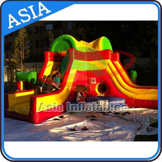 Dual Lanes Inflatable Slide and Bouncer Combo for Party pictures & photos
