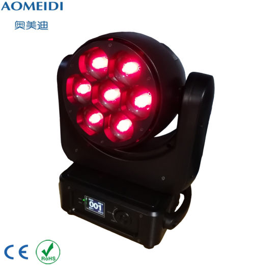 China LED Moving Head 7PCS 40W RGBW 4in1 Disco Lighting pictures & photos